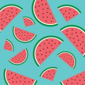 Abstract watermelon background. — Stock Vector