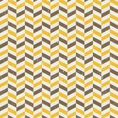 Seamless geometric chevron pattern — Stock Vector