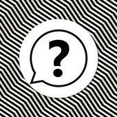Question mark icon — Stock Vector