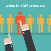 Recrutement et ressources humaines — Vecteur