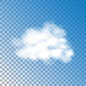 Blue Sky And Cloud — Stock Vector