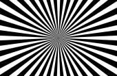 Sunburst Pattern black and white — Stock Vector