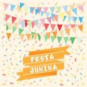 Brazil june party — Stock Vector