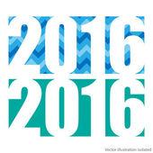 Happy new 2016 year — Stock Vector
