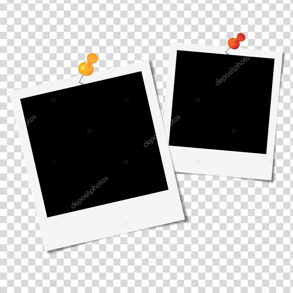 Как сделать рамку в фотошопе полароид