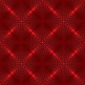 Red lattice — Stock Vector