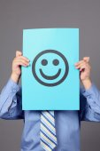 Smiling Face — Stock Photo