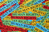 Human rights — Stock Photo