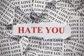 Hate you — Stock Photo