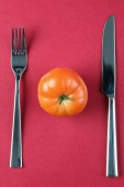 Tomato diet — Stock Photo