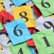 Numbers Heap — Stock Photo #63979119