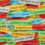 Common Sense — Stock Photo #63979285