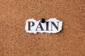 Pain — Stock Photo