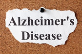 Alzheimer's Disease — Stock Photo