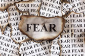 Fear — Stock Photo