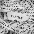 Torn Family — Stock Photo #63987993