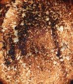 Fried toast background — Stock Photo