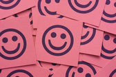 Happy smileys — Stock Photo