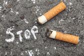 Stop Smoking! — 图库照片