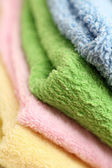 Towels close-up — Stock Photo