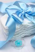 Newborn accessories — Stock Photo