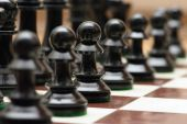 Army of Chess — Stock Photo