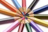 Colored crayon — Stock Photo