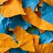 Colorful pieces of paper — Stock Photo #64062287