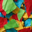 Colorful pieces of paper — Stock Photo #64062291