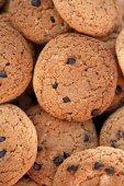 Oatmeal chocolate chip cookies — Stock Photo