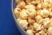 Bowl of popcorn — Stock Photo