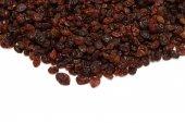 Raisins on white background — Stock Photo