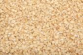Rolled oats background — Stock Photo