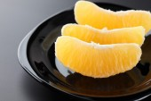 Slices of fresh orange — Stock Photo