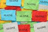 Alone — Stock Photo