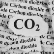 CO2. Carbon Dioxide. — Stock Photo #65362863