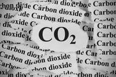 CO2. Carbon Dioxide. — Stock Photo