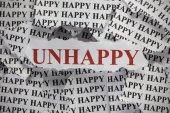 Unhappy — Stock Photo