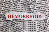 Hemorrhoid — Stock Photo