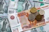 Russische geld — Stockfoto