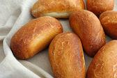 Fresh tasty buns — Stock Photo
