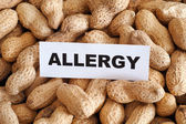 Peanut allergy — Stock Photo