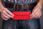 Men's health concept — Stock Photo