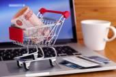 Онлайн покупки — Стоковое фото