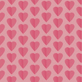Seamless pattern background with hearts — Stock Vector