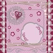 Tilda Style Card Background. Vector illustration. — Stock Vector