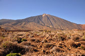 View of the volcano Teide — Stock Photo