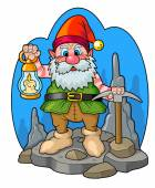 Cave dwarf — Stock Photo