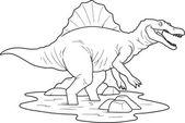 Spinosaurus — Stock Vector