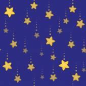 Seamless night stars — Stock Vector